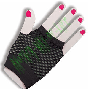 Fishnet gloves without fingersAnother Way of Life