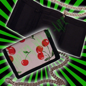 Wallet white with cherriesAnother Way of Life