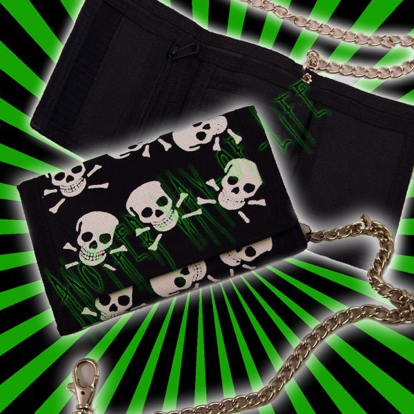 Wallet Large skullAnother Way of Life
