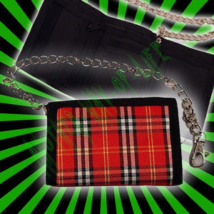 Wallet pattern tartan Another Way of Life