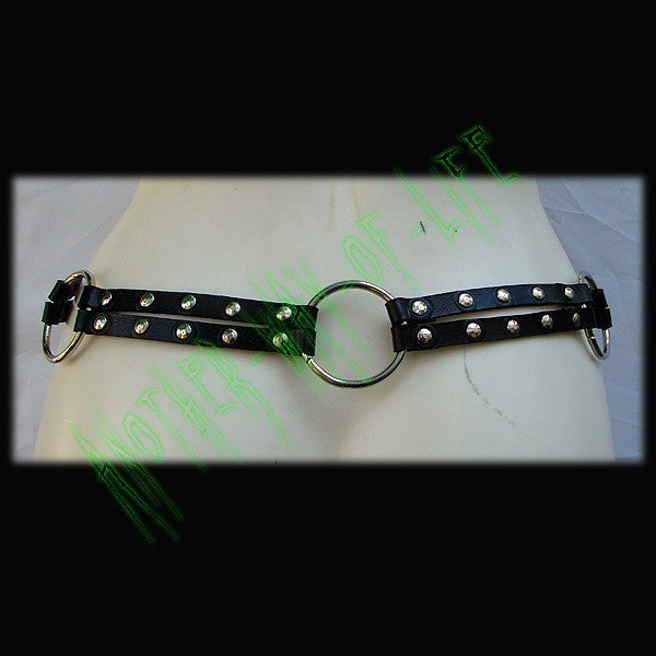 Leather belt with ringsAnother Way of Life