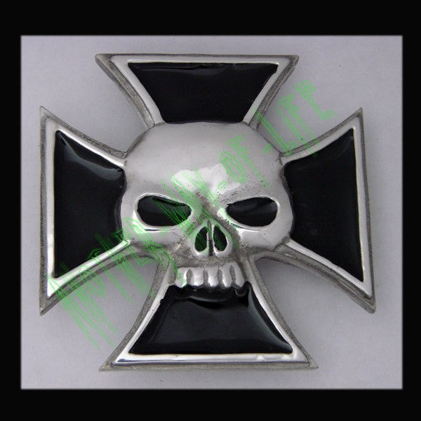 Iron Cross Buckle with SkullAnother Way of Life