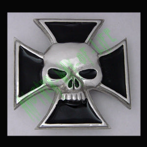 Iron Cross Buckle with Skull Another Way of Life