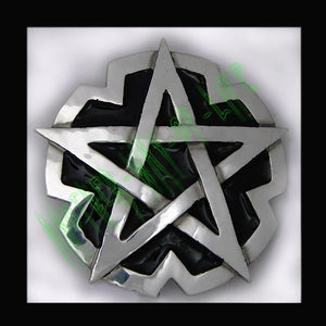 Buckle Pentagram BlackAnother Way of Life
