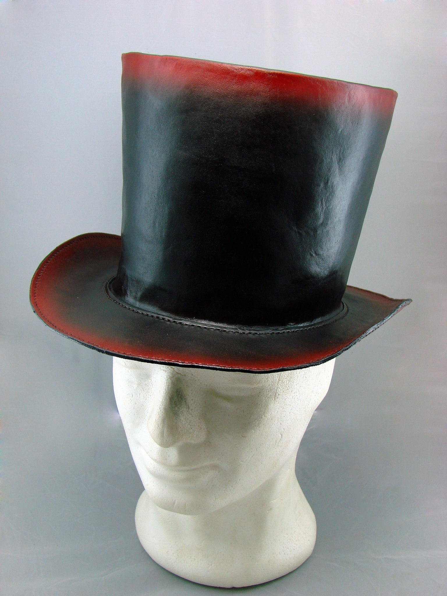 Steampunk top hat black and redAnother Way of Life
