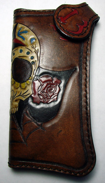 Sugar Skull biker-style wallet Another Way of Life