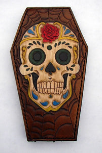 Coffin-shaped wallet: Sugar SkullAnother Way of Life