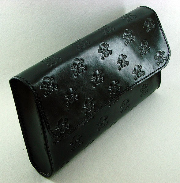 Black handbag clutch with skullsAnother Way of Life