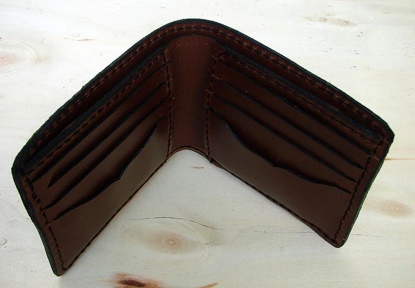 Brown bifold wallet Another Way of Life