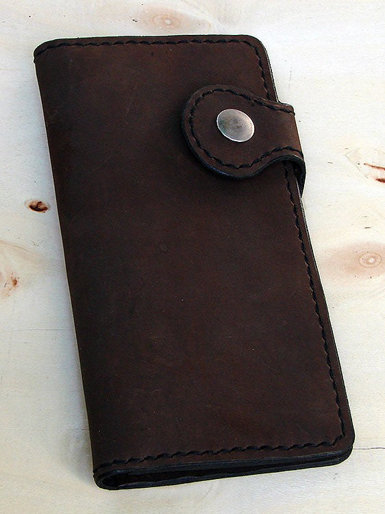 Biker-style bifold wallet Another Way of Life