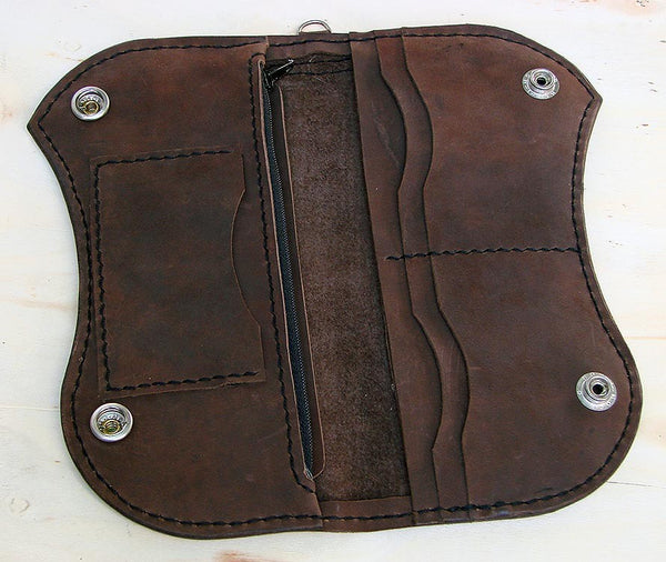 Biker-style bifold walletAnother Way of Life