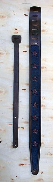 Guitar and bass strap with stars - Another Way of Life