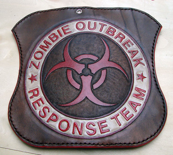 Zombie Outbreak  biker-style walletAnother Way of Life