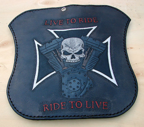 Live to Ride biker bifold walletAnother Way of Life