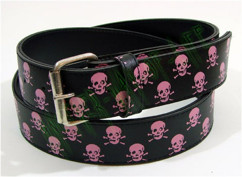 Black belt with skulls Another Way of Life