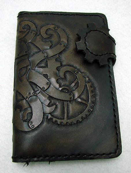 Steampunk octopus wallet Another Way of Life