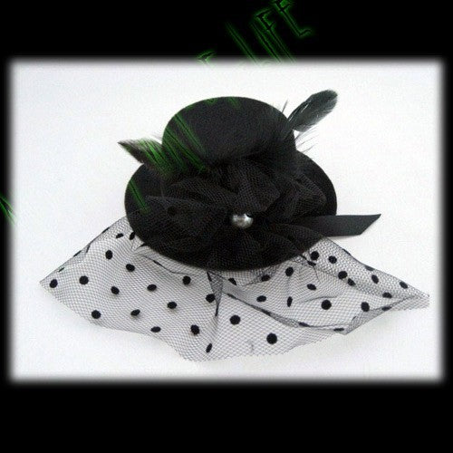 Mini Hat Fascinator wirth Pearl DetailAnother Way of Life