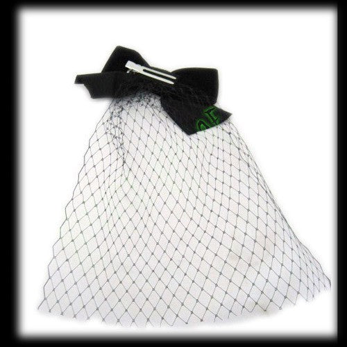 Fascinator Velvet Bow With Net Another Way of Life