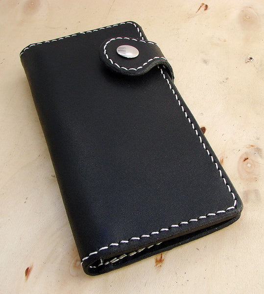 Cow leather wallet style biker black Another Way of Life