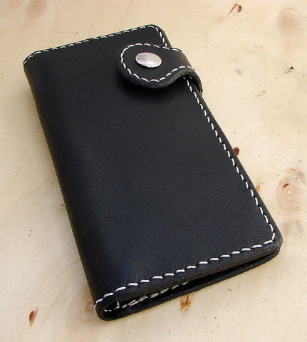 Cow leather wallet style biker blackAnother Way of Life
