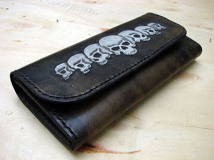 Women's wallet with skulls Another Way of Life