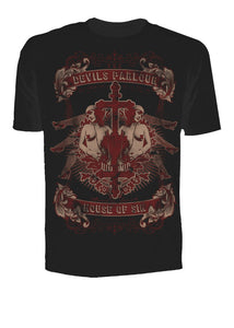 Mens T-Shirt Se7en Deadly House of Sin Another Way of Life