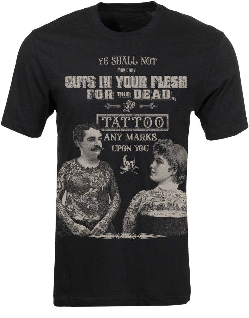 Mens T-Shirt Se7en Deadly Tattoos for the Dead Another Way of Life