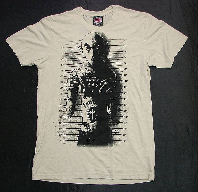 Men's White T-Shirt Nosferatu Another Way of Life