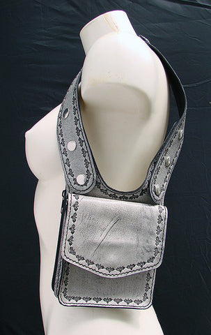 Double Shoulder White Holster Another Way of Life