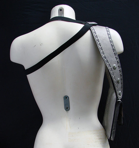 Double Shoulder White Holster by Another Way of LifeAnother Way of Life