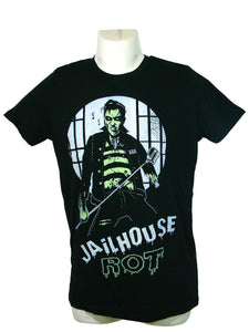 Men's Black T-Shirt Jailhouse Rot