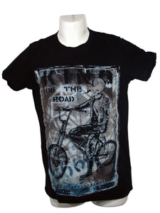 Men's Black T-Shirt King of The Road