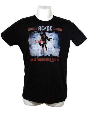 Men's Black T-Shirt AC DC