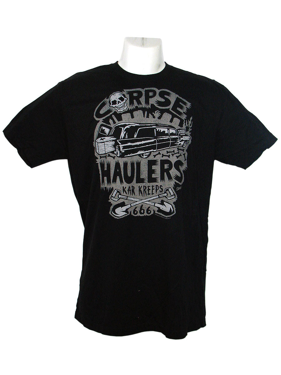 Men's Black T-Shirt Corpse Haulers