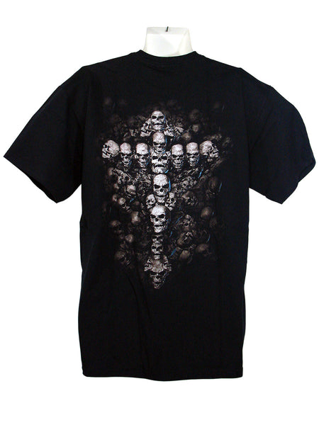 Men's Black T-Shirt Gates of Destiny Back