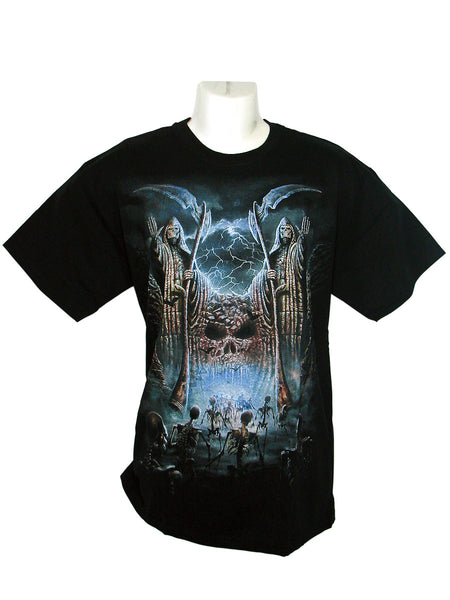 Men's Black T-Shirt Gates of Destiny
