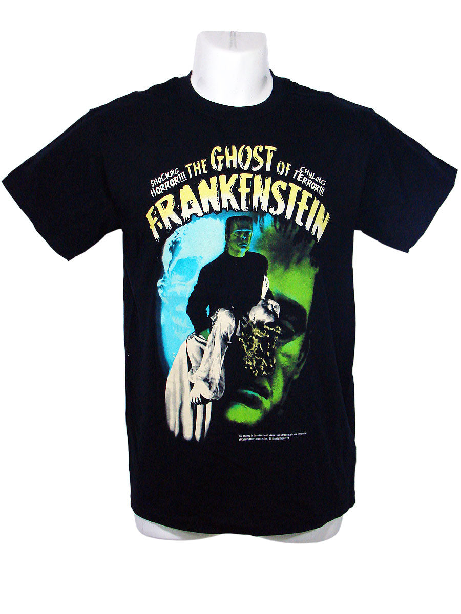 Men's Black T-Shirt The Ghost Frank