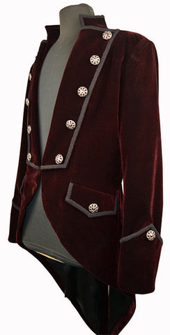 Pentagramme Gothic coat on velvet boardAnother Way of Life