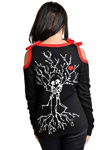 Skeleton Tree Lovers Cardigan by Too FastAnother Way of Life