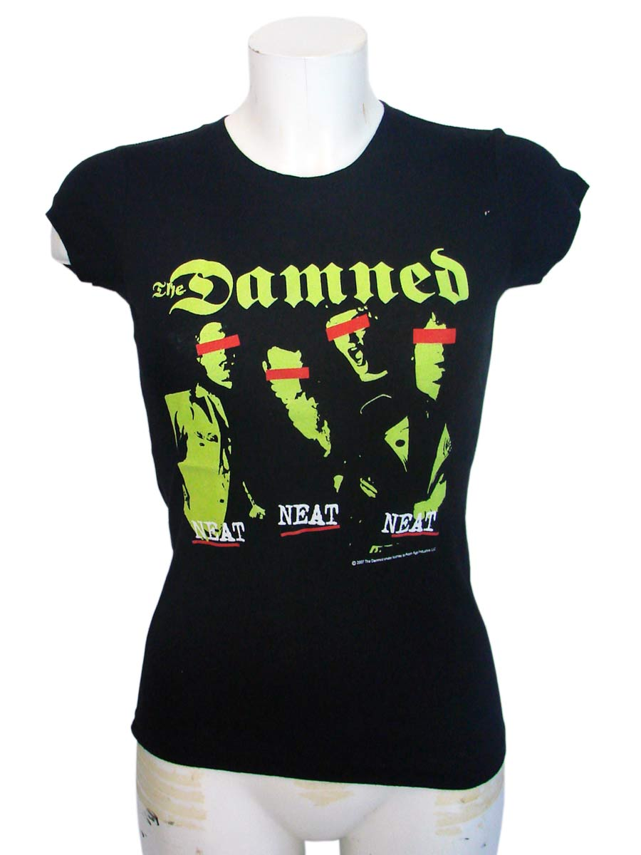 The Damned Women Black T-Shirt