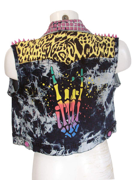 Punk High Five Threat Women's Vest by Rat Baby