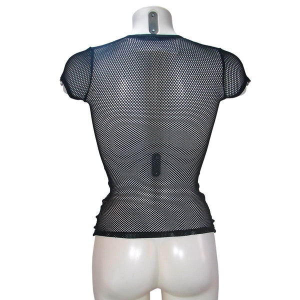 Fishnet Padlock Top By Lip Service