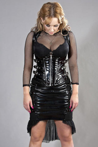 Underbust Corset Cecilia PVC Top Another Way of Life