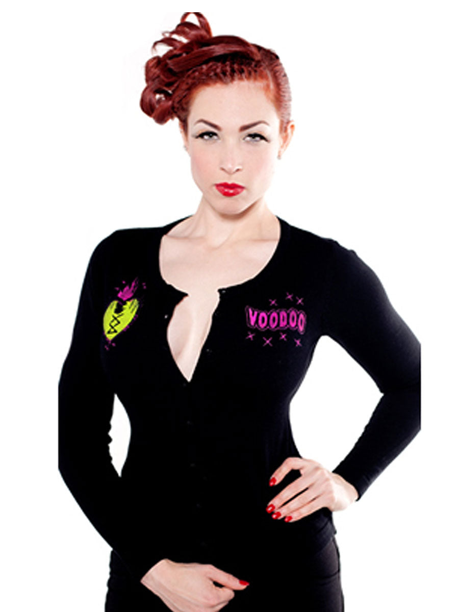 Atomic Voodoo Lux Cardigan by SourpussAnother Way of Life