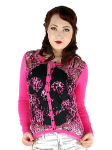 Skull Lace Cardigan by Too Fast - Another Way of Life