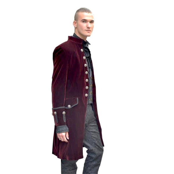 Pentagramme manteau coat man gothicAnother Way of Life