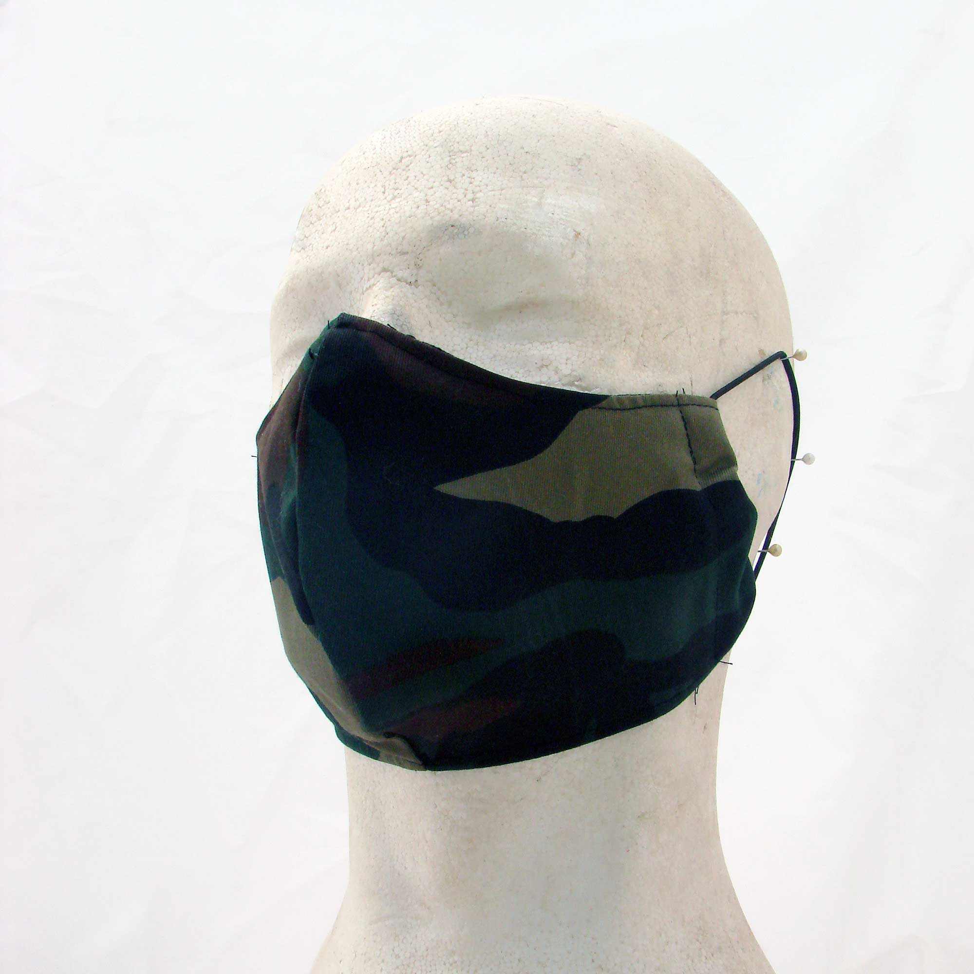 Face mask military camouflage