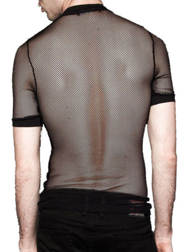 Dragnet fishnet men's t-shirt short sleeve by Lip Service - Another Way of Life