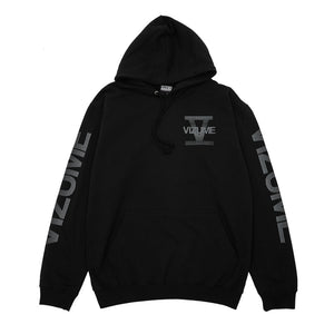 Vizume 5 Year Hooded Pullover - Black