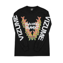 Load image into Gallery viewer, Vizume Gummo Longsleeve Tee - Black